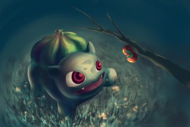 Pokemon: Bulbasaur by starthief-alice