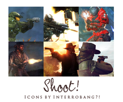 Shoot - Icons by Lhanii