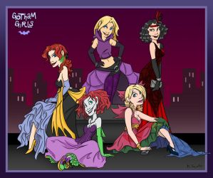 Miss Gotham 2010 Evening Gowns by msciuto
