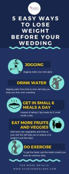 5 Easy Ways to Lose Weight before Your Wedding by studio99salons