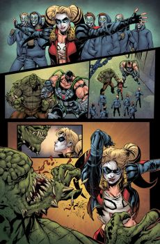 Injustice: Ground Zero #8 p1 by MarkHRoberts