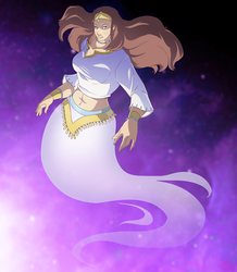 White Jinn Commission BY PirateHearts by Aliencon