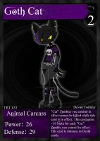NecroMasters - TRT - 033 - Goth Cat by PlayboyVampire