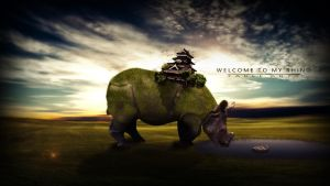 Welcome to my rhino from FlewDesigns Manip tut by jimjim617