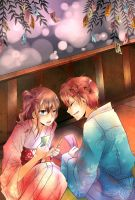 NNK::Tanabata Collab with Chao by Healing-Shuriken