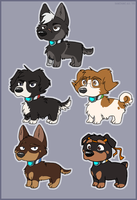 Pup Paladins by Rainie-Painie