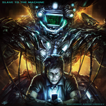 Slave to the Machine CD cover by mlappas