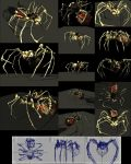 Bone Spider - 4890 Polygons by reversenorm