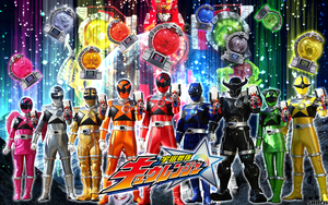 Uchu Sentai Kyuranger Wallpaper ( 2017 ) by malecoc