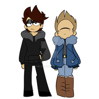 Emo and cyclops redesign by pixelz01