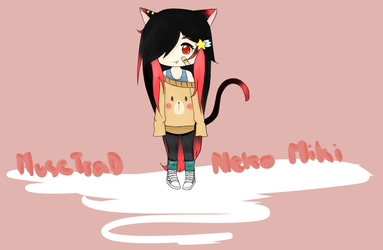 REQUEST - Neko Miki by musetrad