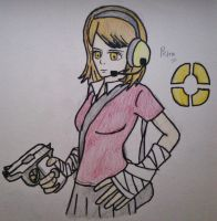 Titan Fortress 2 Extra - Petra Ral the FemScout by Fil101