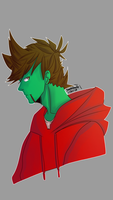 Zombie Tord by SarahDoodle2005