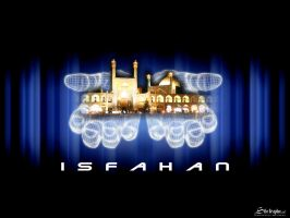 isfahan half of world by isfahangraphic