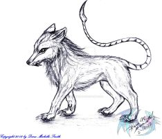 Mixed Wolf (taken) by CryoftheBeast