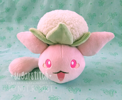 Pokemon: Wataneko (Beta Jumpluff) by sugarstitch