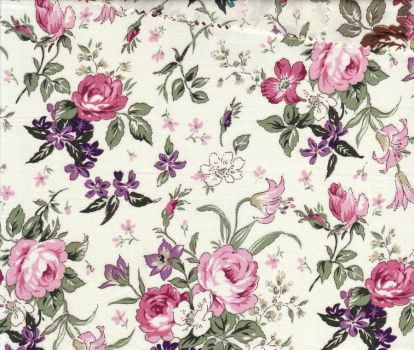 Patterned Fabric 3 by semireal-stock
