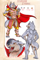 ref sheet - Emperor Ithral by not-fun