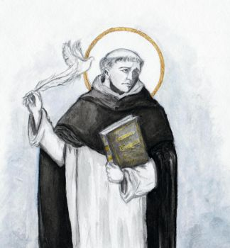 St. Thomas Aquinas by Aodhagain