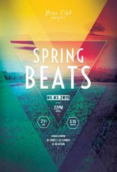 Spring Beats Flyer by styleWish