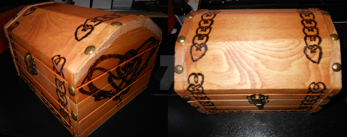 Celtic Heart-Lovers-Knot Box by YamiCrystalline