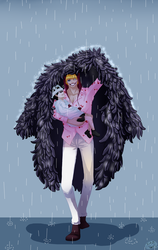 One Piece - Between The Raindrops With You by Minouze