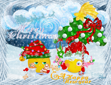 Christmas Greetings 2016 by zemimsky