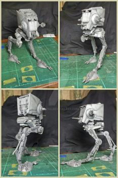 AT-ST from Star Wars (MPC 1/54 Scale) by BazSg