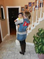 Baby Trunks with Android 18 by Juices-Delicacy