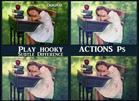 Play hooky   ACTIONS Ps by Laurent-Dubus