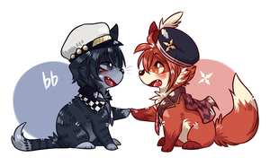 Tiny IoRiku! by ThatWildMary