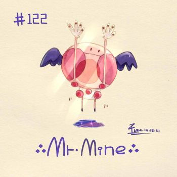 Mr. Mime by FL-ZC