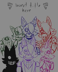 WIP comic cover by Igrisa