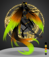 (closed) Auction Adopt - Arcane Harpy 3 by CherrysDesigns