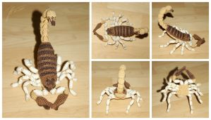 The Crocheted: Scorpion 2 by janey-in-a-bottle