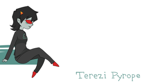 Terezi Wallpaper by Adoxographist