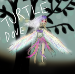 Turtle Dove Gijinka by Windaura
