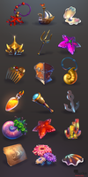 game items set by mortresss