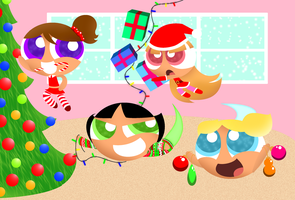 We Wish You a Puffy Christmas by SpitFireXOXO