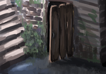 Background Practice by MauiCatgirl