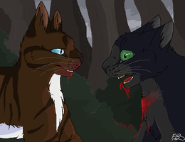 Hollyleaf's End by glacierpaws