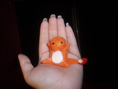 Tiny Charmander by StitchyGirl