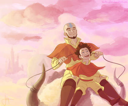 Tenzin Flashback by bbandittt