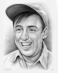 Jim Nabors as Gomer Pyle by gregchapin