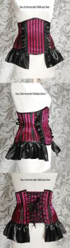 The Circus Princess Corset by Stahlrose