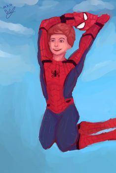 spider man HOME COMING by barpink