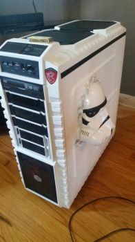 Customized  Star Wars Stormtrooper PC  by Gr4phik