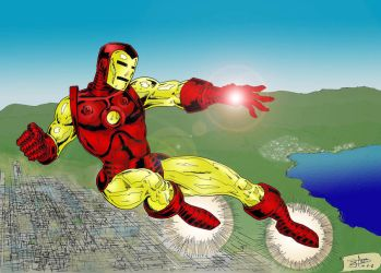 Iron Man by antacidimages