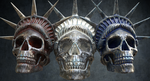 Liberty Skulls Cinema 4D Arnold Substance Painter by botshow