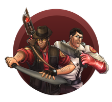 Team Fortress 2: Melee by Ainogommon